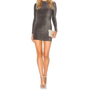 Superdown Brielle Backless Mini Dress